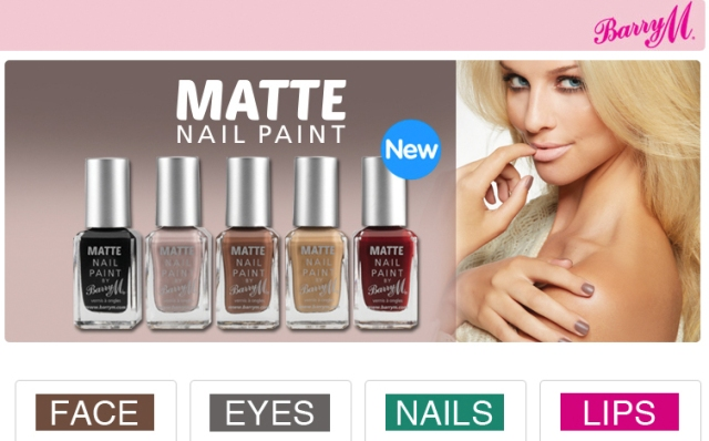 Barry M disponible chez Boots