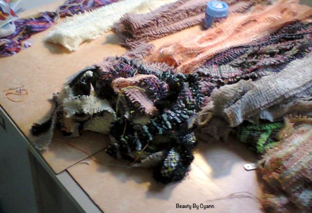 Tissus utilisés pour la confection des perruques