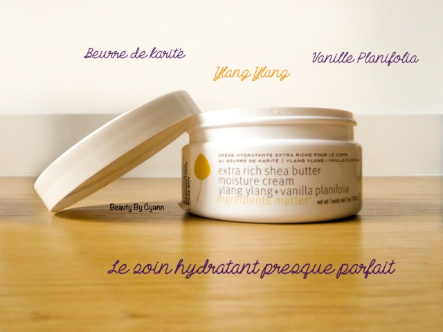 La crème hydratante extra-riche Ylang Ylang Vanille Planifolia de Pure Plante Spa | Beauty By Cyann