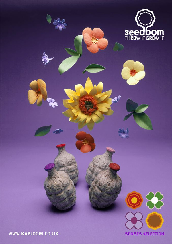Kabloom la bombe qui se change en fleur